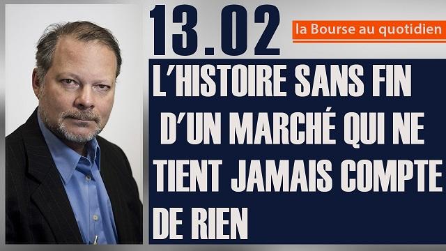 """Philippe Béchade: Séance du Lundi 13 Fév 2017: """"L"""