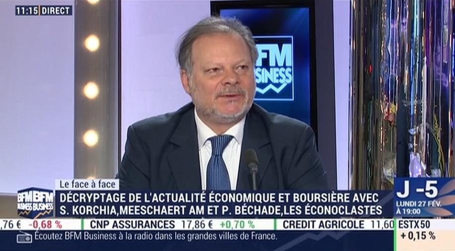 """Philippe Béchade: """"On est dans une bulle algorithmique comme on en n"""