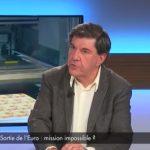 """Jacques Sapir: """"en cas de sortie de l'euro, l'état regardera sur notre compte en banque quand on partira en voyage"""""""