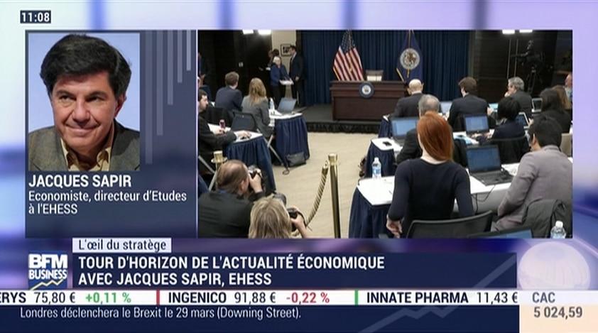 Jacques Sapir: La Fed va certainement remonter ses taux et peut-être plus que ce qui était prévu