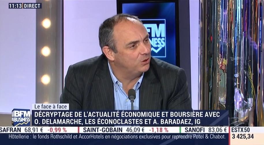"""Olivier Delamarche: """"On se félicite de cet euro qui a malheureusement amené beaucoup de malheurs..."""""""