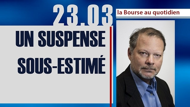"""Philippe Béchade: Séance du Jeudi 23 Mars 2017: """"Un suspens sous-estimé..."""""""