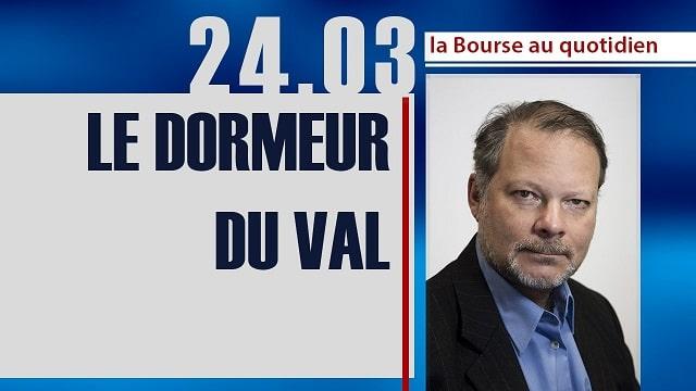 """Philippe Béchade: Séance du Vendredi 24 Mars 2017: """"Le dormeur du val"""""""