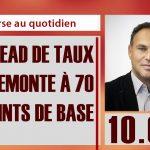 Eric Lewin: Le spread de taux entre la France et l'Allemagne remonte à 70 points de base