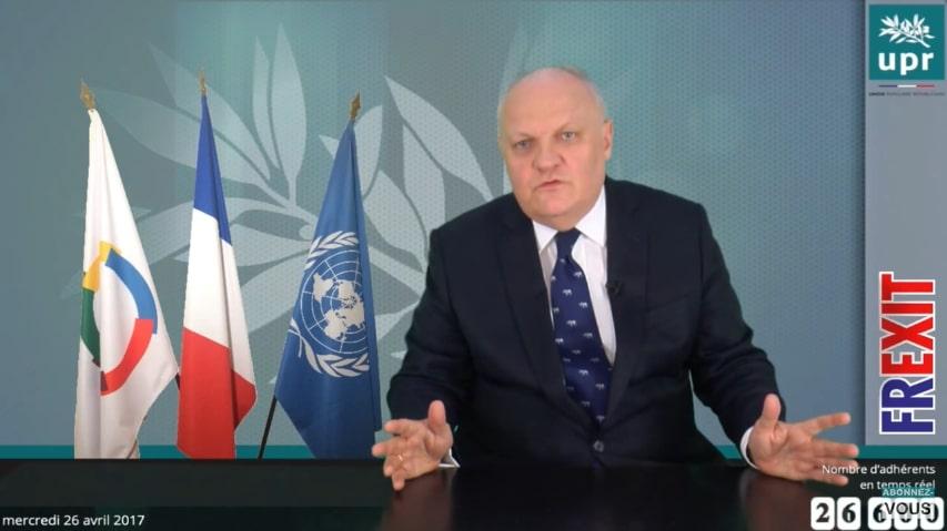 """François Asselineau déballe tout: """"Mr Macron, c"""