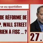 Philippe Béchade: Séance du 27/04/17: «La grande réforme de TRUMP, Wall Street n'en a rien à fisc … ?»