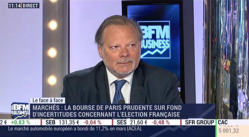 Philippe Béchade: Il y aurait un coup de massue indiciel avec Le Pen et Mélenchon au 2nd tour de la présidentielle