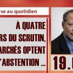 Philippe Béchade: Séance du Mercredi 19 Avril 2017: «A 4 jours du scrutin, les marchés optent pour l'abstention …»