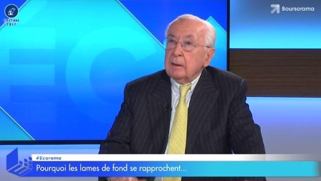 """Jacques de Larosière: """"Si on continue la politique économique actuelle, ça finira mal !"""""""