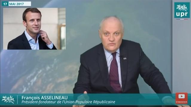 """François Asselineau: """"Je n"""