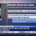 Marc Fiorentino: A 250% du PIB, la dette chinoise continue de monter