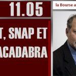 Philippe Béchade: Séance du Jeudi 11 Mai 2017: «Tweet, snap et abracadabra.»