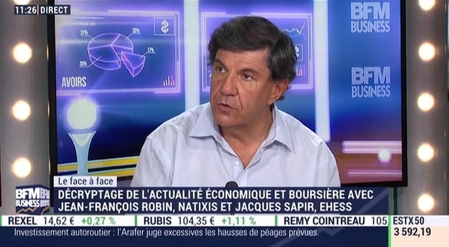 Jacques Sapir: il y a des inquiétudes extrêmement importantes sur les banques portugaises, espagnoles et italiennes