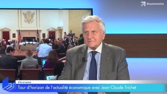 """Jean-Claude Trichet: """"Il y a beaucoup d"""