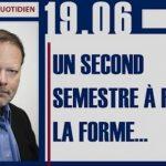 Philippe Béchade: Séance du Lundi 19 Juin 2017: «Un second semestre à fond la forme …»