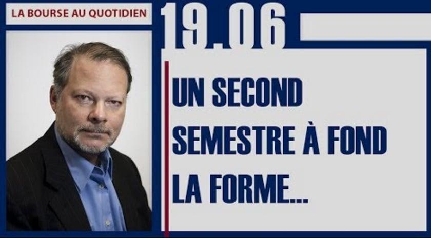 "Philippe Béchade: Séance du Lundi 19 Juin 2017: ""Un second semestre à fond la forme ..."""