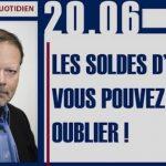 Philippe Béchade: Séance du Mardi 20 Juin 2017: «Les soldes d'été, vous pouvez oublier !»