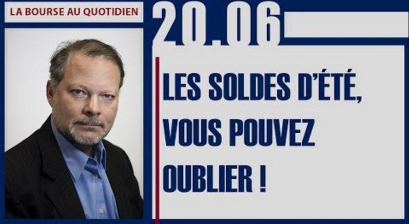 """Philippe Béchade: Séance du Mardi 20 Juin 2017: """"Les soldes d'été, vous pouvez oublier !"""""""