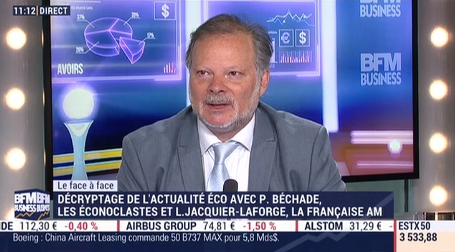 """Philippe Béchade: """"Y a plus aucun mouvement sur les marchés sauf une hausse façon funiculaire !"""""""