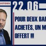 Philippe Béchade: Séance du Jeudi 22 Juin 2017: «Pour deux barils achetés, un missile offert !!!»