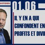 Philippe Béchade: Séance du 1er Juin 2017: «Il y en a qui confondent encore profits et dividendes…»