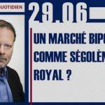"""Philippe Béchade: Séance du jeudi 29 Juin 2017: """"Un marché bipolaire comme Ségolène Royal ?"""""""