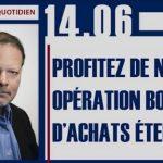 Philippe Béchade: Séance du Mercredi 14 Juin 2017: «Profitez de notre opération bons d'achats éternels !»