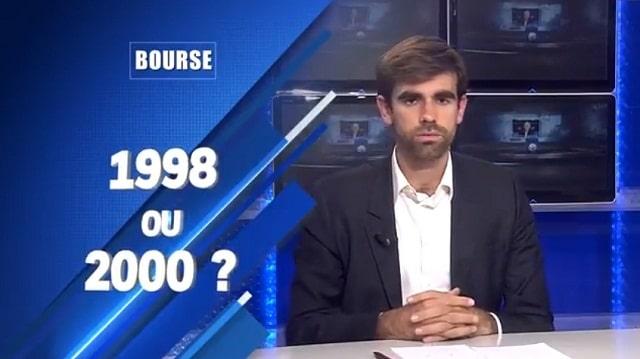 Bourse: sommes-nous en 1998 ou bien est-ce la fin des haricots comme en 2000 ? Avec Pierre Sabatier