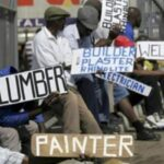L'Afrique du Sud connaît l'un des pires problèmes de chômage au monde avec plus de 30% de chômeurs désormais