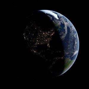 LA DETTE MONDIALE ATTEINT LE NIVEAU RECORD DE 217 000 MILLIARDS DE DOLLARS World-United-States-At-Night-Public-Domain-300x300