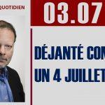 """Philippe Béchade: Séance du Lundi 03 Juillet 2017: """"Déjanté comme un 4 Juillet …"""""""