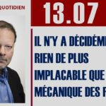 Philippe Béchade: Séance du 13/07/17: «Il n'y a décidément rien de plus implacable que la mécanique des fluides…»
