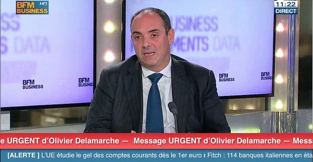 Olivier Delamarche tire la sonnette d