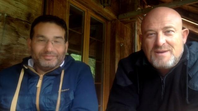 Piero San Giorgio rencontre Charles Sannat