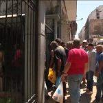 En Grèce, la casse du Code du travail jette les chômeurs à la rue. 1 Grec sur 3 a basculé dans la misère.