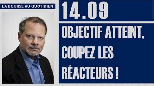"""Philippe Béchade: Séance du Jeudi 14 Septembre 2017: """"Aux Etats-Unis, c"""