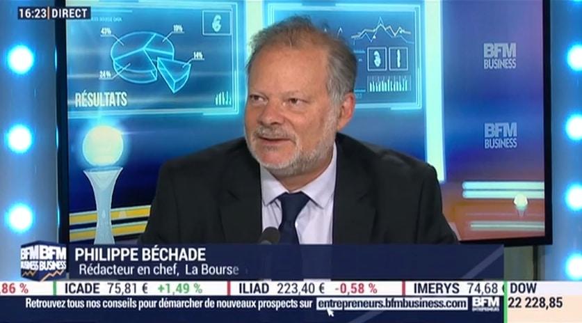 """Philippe Béchade: """"Personne ne réalise vraiment que la croissance continue d"""