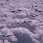 Des bombardiers américains ont longé une partie de la côte orientale de la Corée du Nord