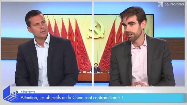 Attention, les objectifs de la Chine sont contradictoires !... Avec Pierre Sabatier