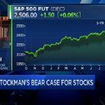 """David Stockman: """"Tous les sept à huit ans, il y a une correction des marchés de l'ordre de 40 à 70%"""""""