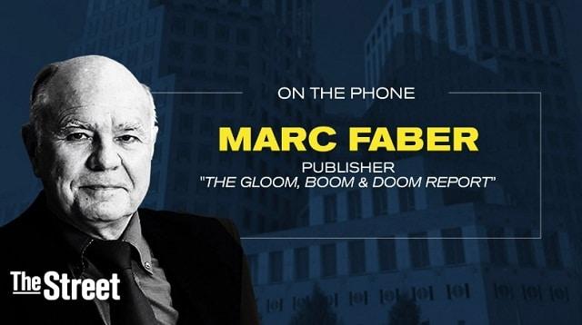 """Marc Faber: Marchés: """"Une correction majeure va bientôt se produire"""""""