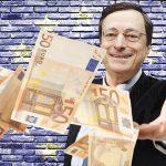 La BCE pourrait distribuer 1300 euros à chaque citoyen