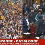 A y est, c'est fait ! Le Parlement de Barcelone proclame l'indépendance de la Catalogne !