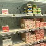 Vers une pénurie de beurre en France ?… les supermarchés rationnent leurs clients.
