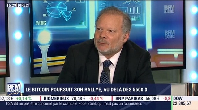 "Philippe Béchade: ""ATTENTION.. Le Bitcoin n"