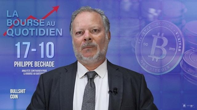 Philippe Béchade: Séance du Mardi 17 Octobre 2017: « Bullshit Coin »