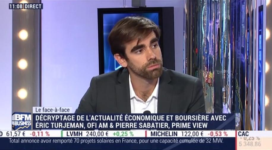 """Pierre Sabatier: """"Annuellement, la BCE réinjecte plus de 700 milliards d"""