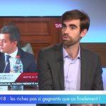 """Pierre Sabatier: """"Les avantages fiscaux consentis aux 0,1% des plus riches représentent énormément d'argent."""""""