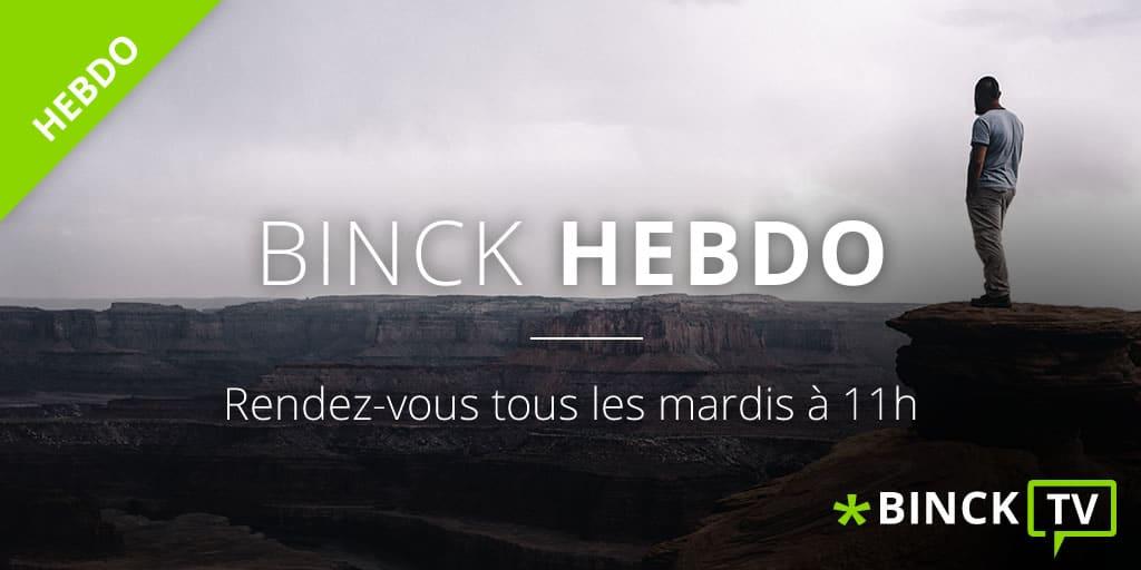 """Nicolas Chéron - Binck Hebdo du 16 Octobre 2018: """"Correction appuyée ou Bear market ?"""""""