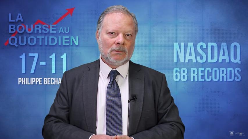 """Philippe Béchade: Séance du Vendredi 17 Novembre 2017: """"Déshabiller Paul pour habiller Wall…"""""""